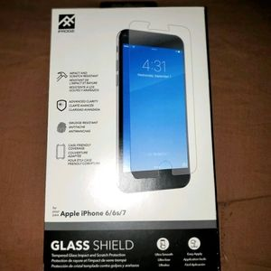IFROGZ glass shield for iPhone 6/6s/7